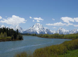 Mt Moran from Oxbow Bend